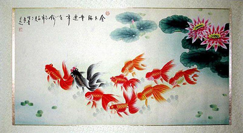 Feng Shui Paintings Wall Art Decor