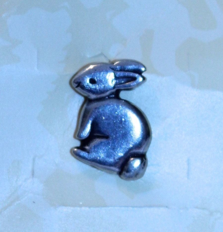 Danforth pewter bunny rabbit pin made in usa new on paper package danforth pewter bunny rabbit pin made in usa new on paper package easter present danforthpewter negle Images