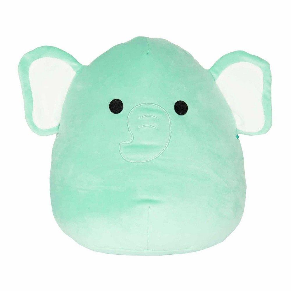 Kellytoy Squishmallow 16 Inch Plush Elephant In 2021 Elephant Plush Animal Pillows Plush Pillows