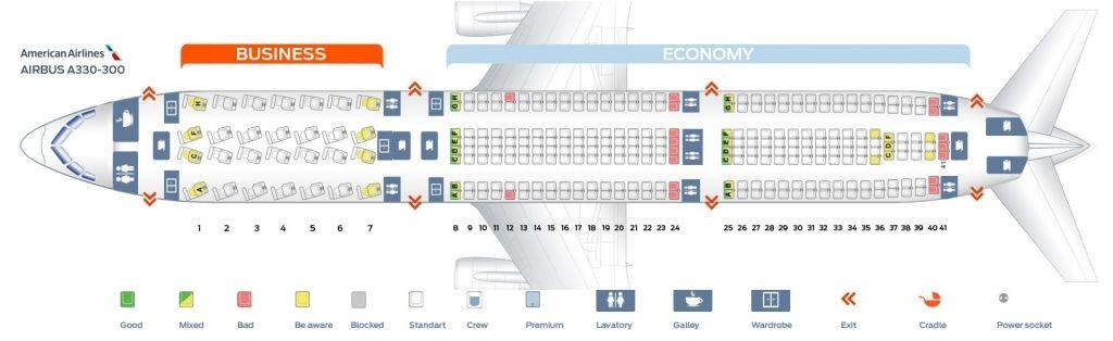 Brilliant A330 300 Seating Plan Dengan Gambar