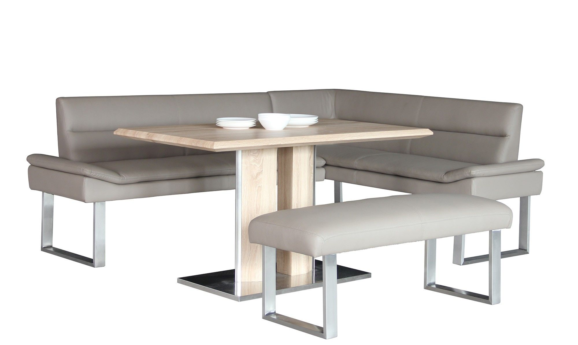 The Ligano Collection Combines A Flawless Stainless Steel Base And