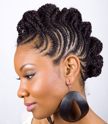 Remarkable 1000 Images About Braid Styles On Pinterest Cornrows Flat Hairstyles For Women Draintrainus