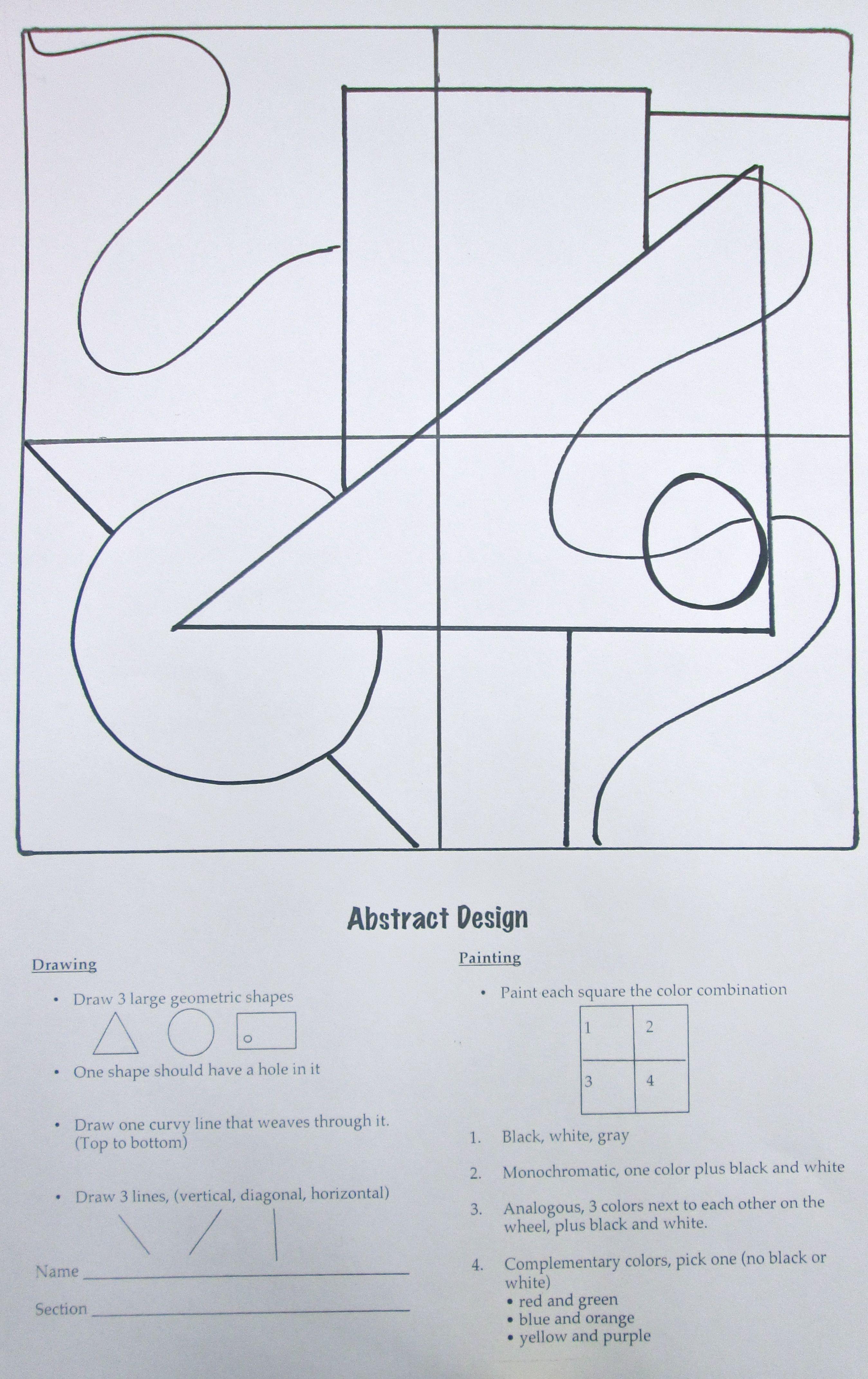Cubism and Confusion | Frühling, Kunst und Basteln