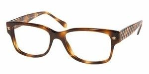 ab7cd197a28 Chanel Eyeglasses Chanel 3135 C 502 in Tortoise w Quilted Temples Double CC  Logo