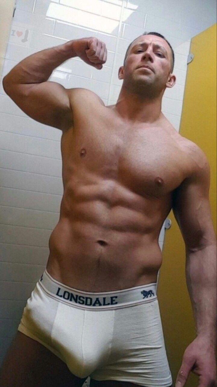Sexy hunk bulge