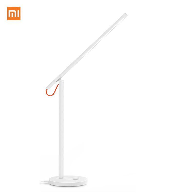 Goryachij Prodavat Xiaomi Mijia Svetodiodnye Nastolnye Lampy Smart Nastolnye Lampy Desklight Podderzhka Smartfon App Upravl Led Desk Lamp Smart Table Desk Lamp