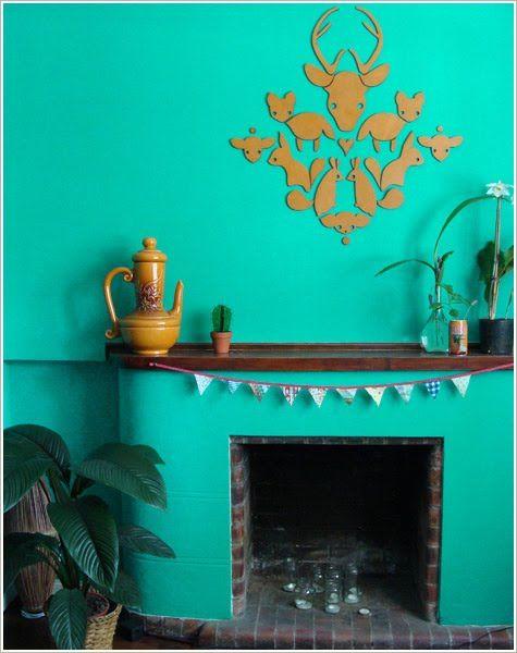 El color aguamarina en casa de Aku