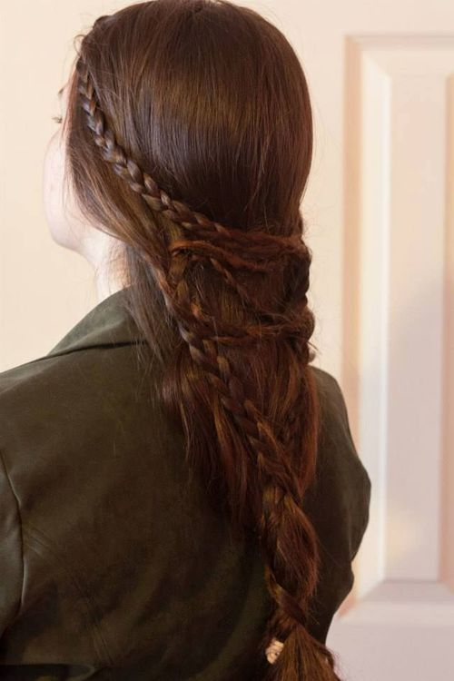 medieval hairstyle beauty hair