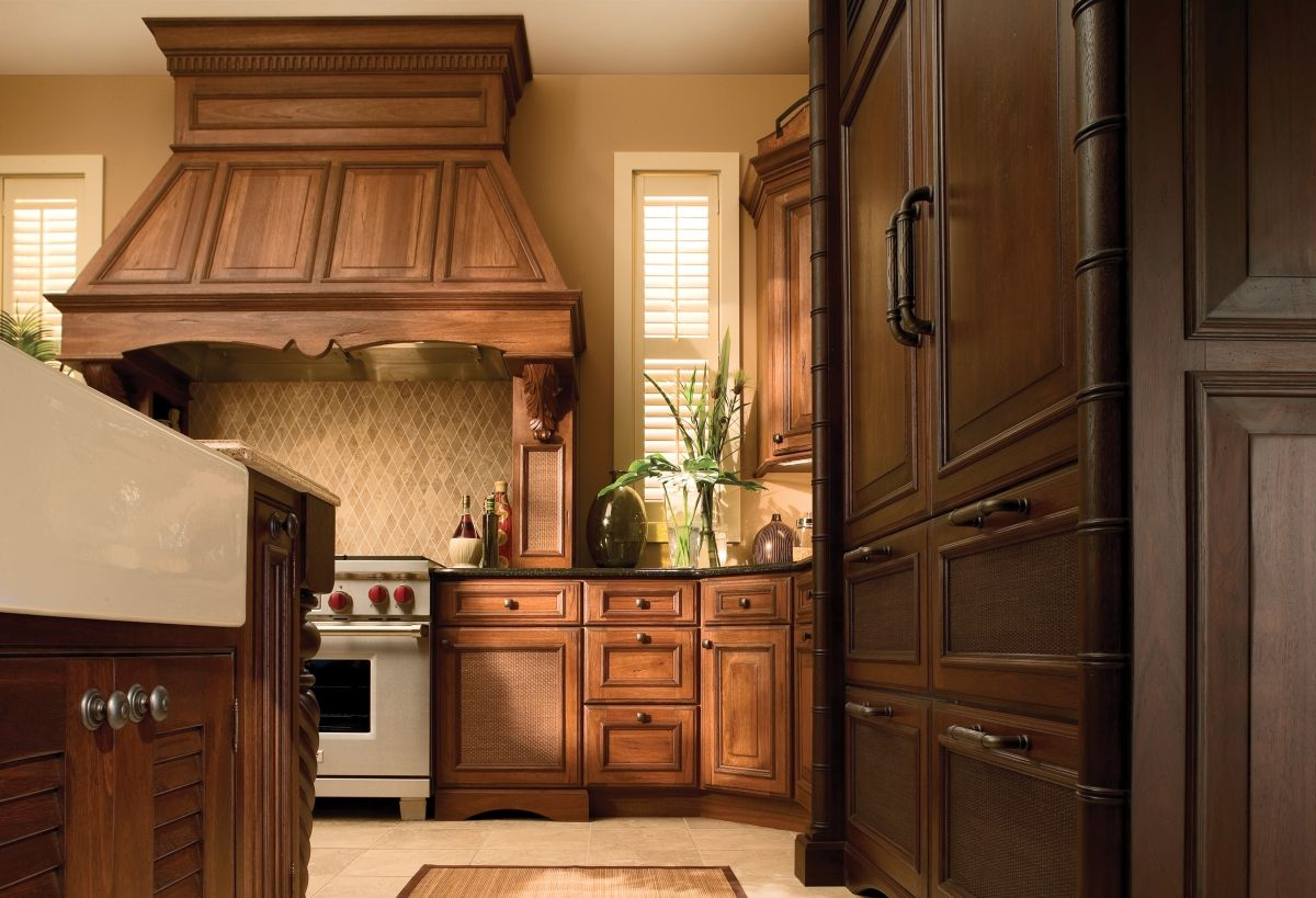 Get The Look How To Create A West Indies Style Kitchen In 2020 Kitchen Cabinetry Design Traditional Kitchen Remodel Tropical Kitchen