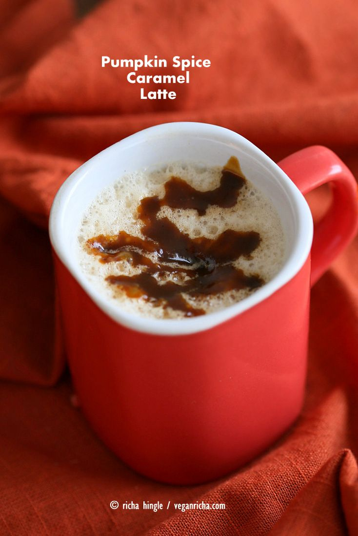 This Pumpkin Spice Caramel Latte has a delicious drizzle of pumpkin caramel…