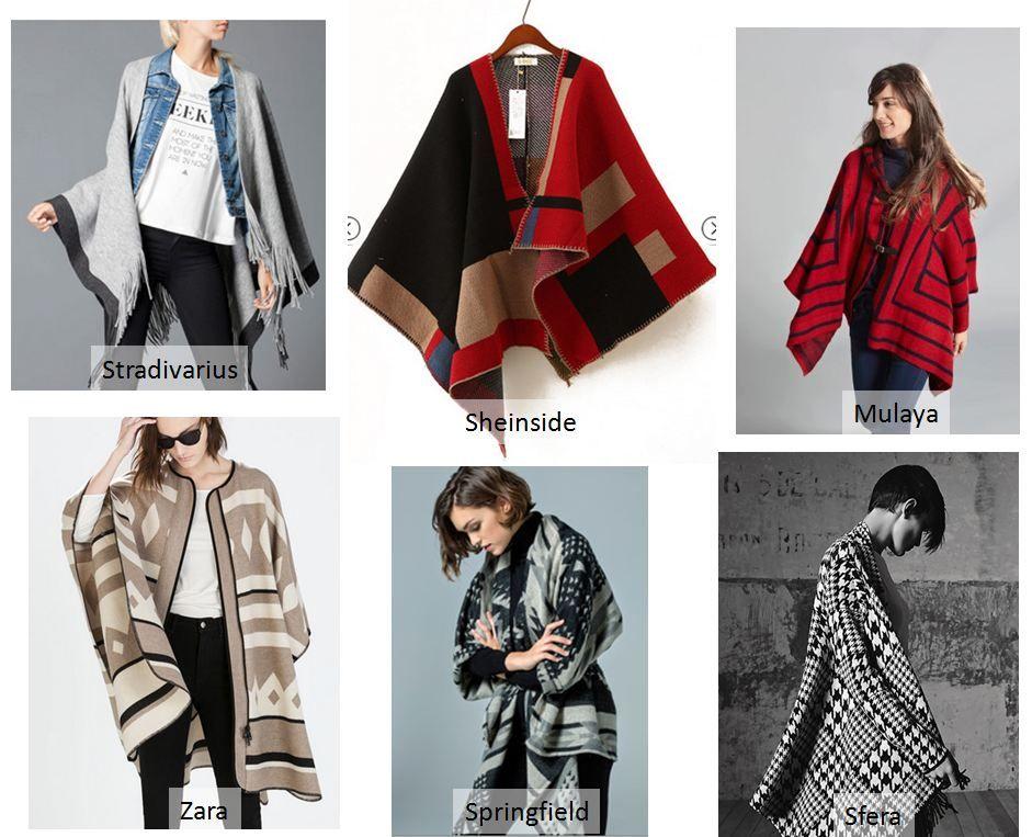 Capas y ponchos lo que se lleva oto o invierno moda for Que se lleva este otono 2017