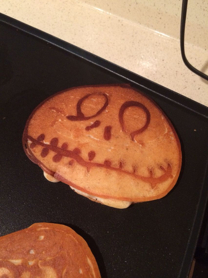 Jack Skellington from The Nightmare Before Christmas pancakes ...