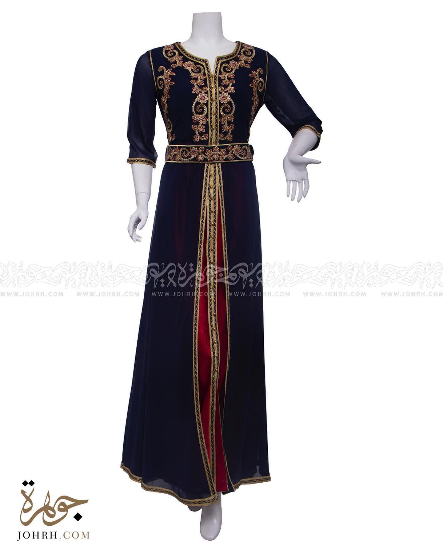 قفطان طبقتين و حزام و كم حاير رقم الموديل 2051 السعر 368 جلابيات جلابيات راقية جلابيات فخمه جلابيات للعي Dresses With Sleeves Long Sleeve Dress Fashion