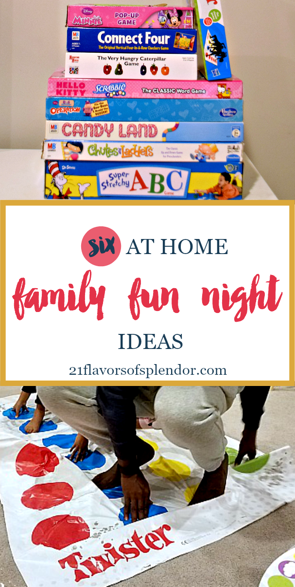 Six At Home Family Fun Night Ideas Parents Inspiration And
