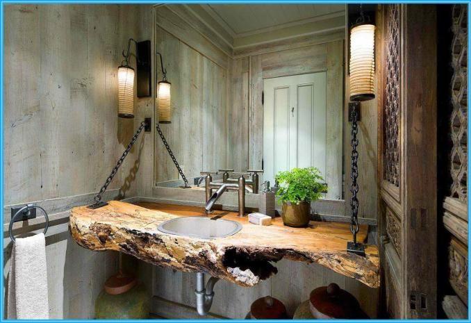 Small Rustic Bathroom Ideas: 35 Small Rustic Bathrooms Ideas