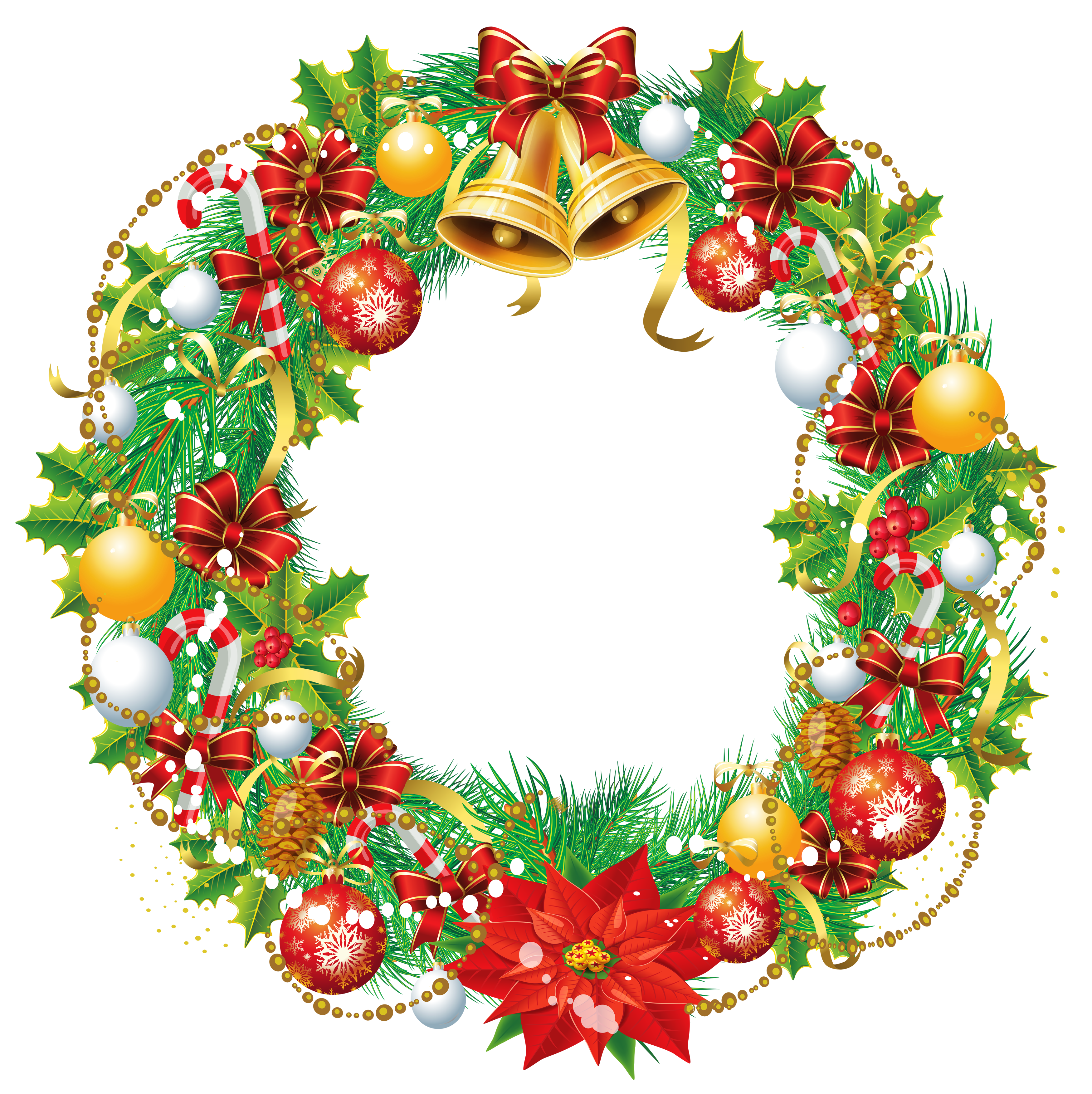 16+ Gold christmas wreath png info