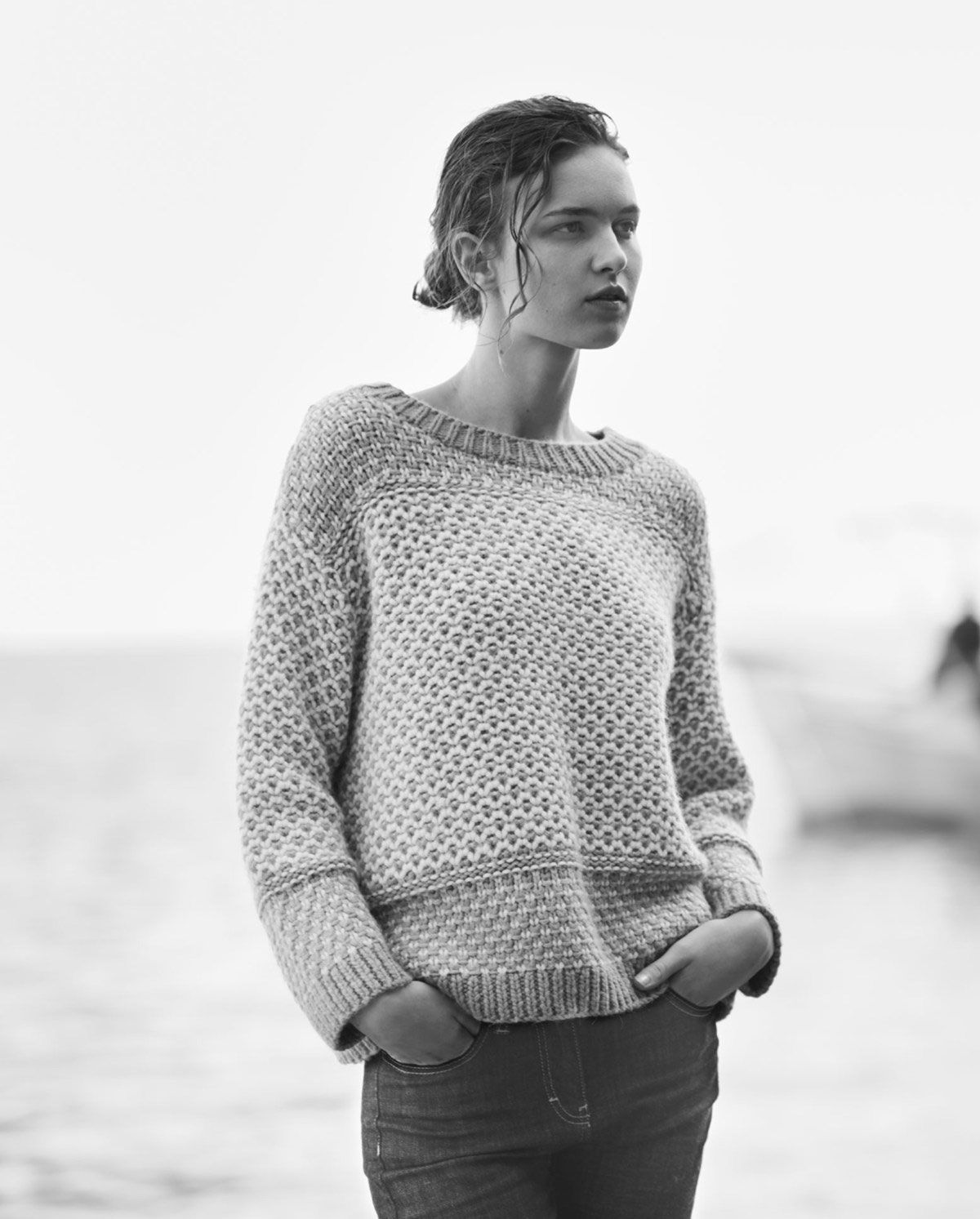 love a classic chunky sweater