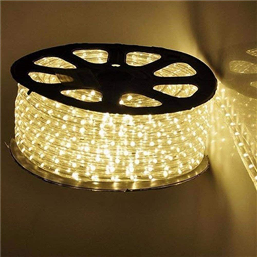 Qulaten Led Rope Lights 120v Waterproof Connectable Led Strip Lights For Indoor Outdoor Rope Lights Waterproof Dec In 2020 Outdoor Rope Lights Led Rope Lights Led Rope