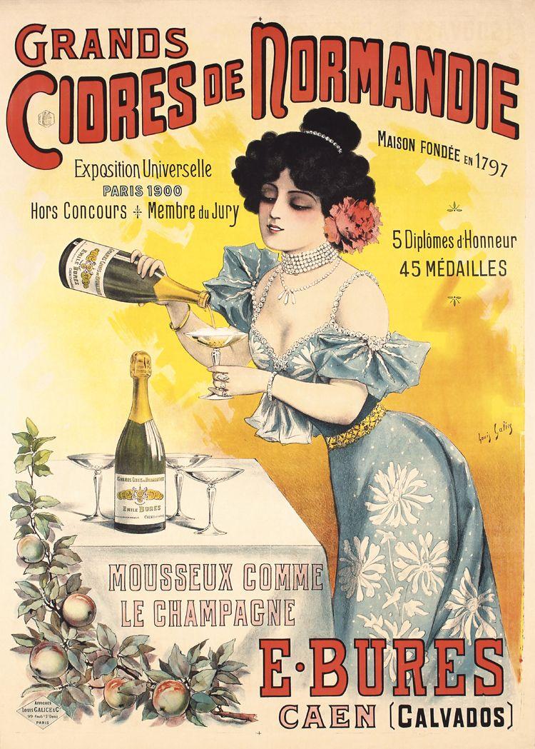 Épinglé par momo sur posters 3 | Normandie, Publicités vintage et ...