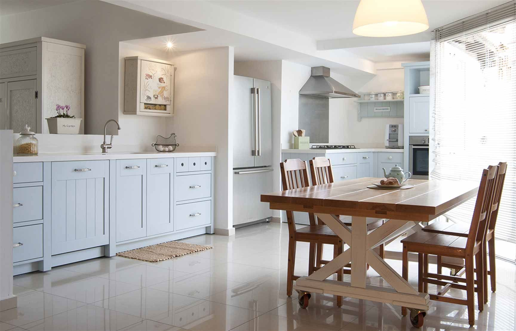 מטבחים מעוצבים | מטבח מעוצב בסגנון כפרי - פשטות מטבחים | kitchen ...