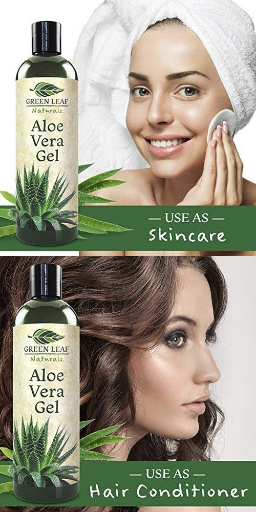 how to use green leaf aloe vera gel on face