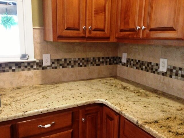 30 Amazing Design Ideas For A Kitchen Backsplash: Pin By Fireplace And Granite On Granite-Medium Colored