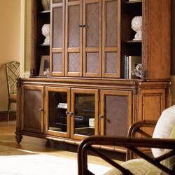 Island Estate Mariana Lighted Curio Cabinet | Tommy bahama ...