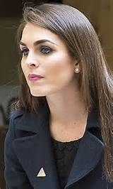 Trump press secretary Hope Hicks - Former model and lacrosse star at SMU.