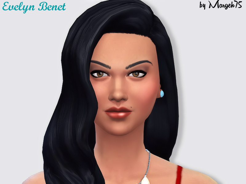 Sims  Addictions: Sims 4 Evelyn Benet (Sim)