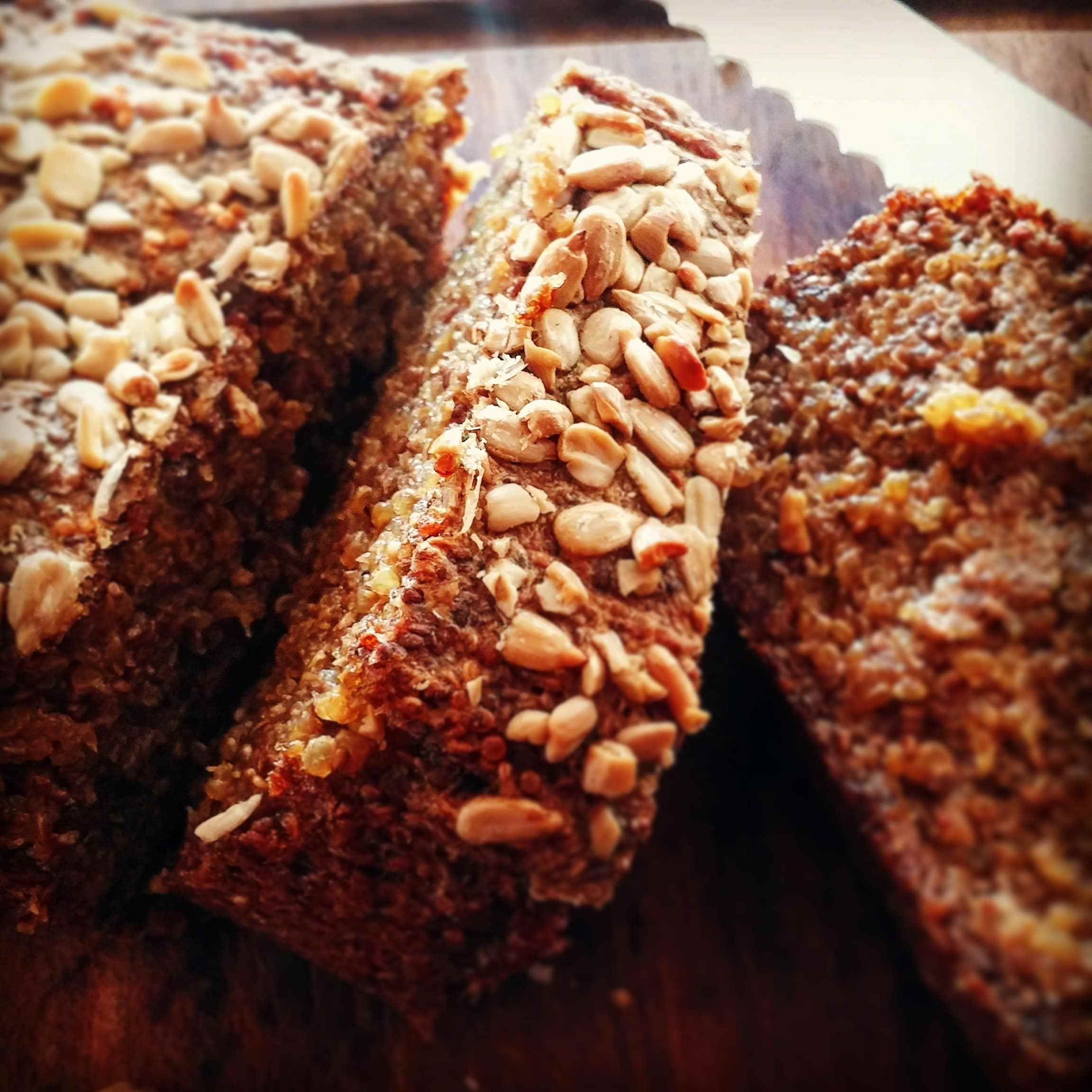Gluten Free Quinoa Bread Recipe Vegan Veggie Savvy Quinoa Bread Bread Alternatives Savory Vegan