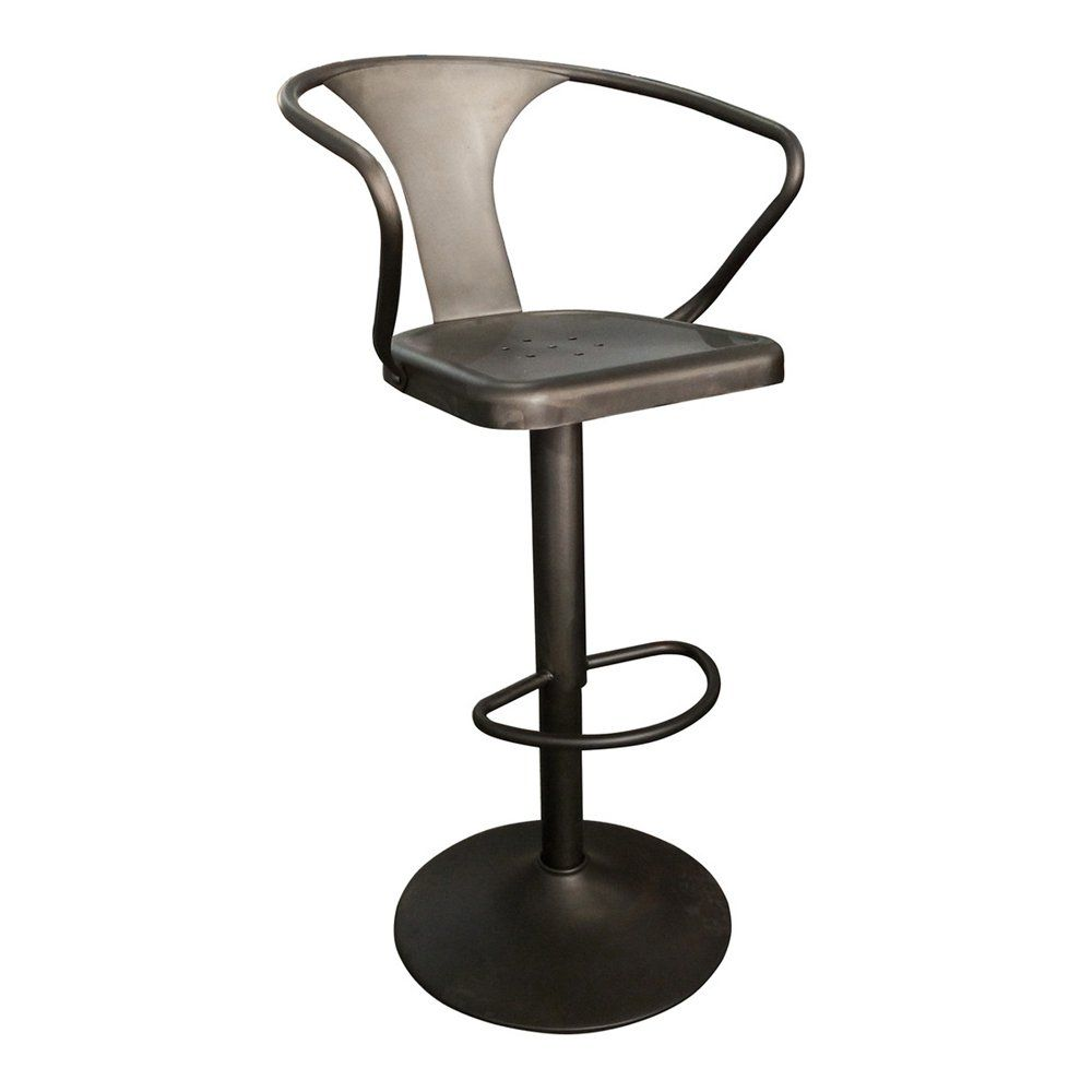 Shop Worldwide Home Furnishings 203 116 Adjustable Metal Stool At ATG  Stores. Browse Our