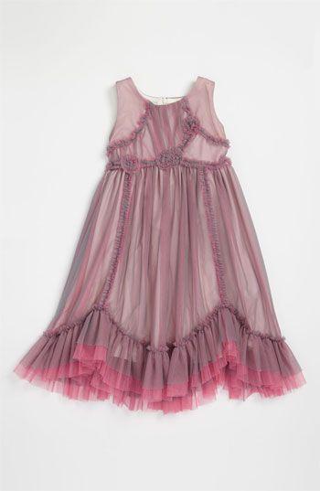 Isobella & Chloe 'Moonlight Mesh' Dress (Little Girls) available at #Nordstrom