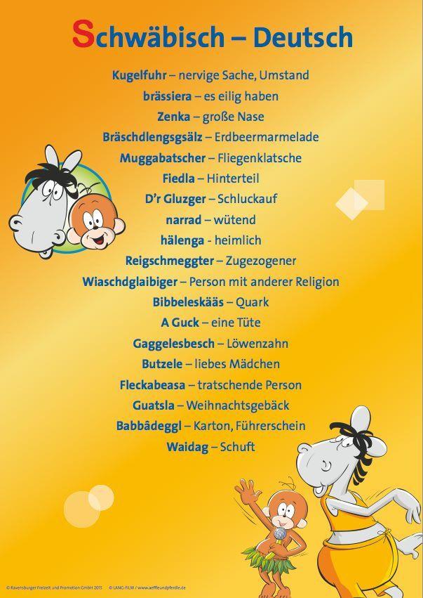 Schwabisch Schwabische Spruche Spruche Zum Geburtstag Lustig Geburtstag Lustig