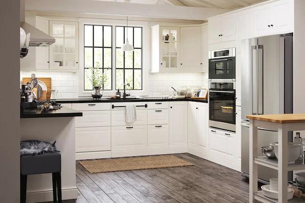 Ikea Bodbyn Kitchen White Google Search Kitchen Plans Ikea