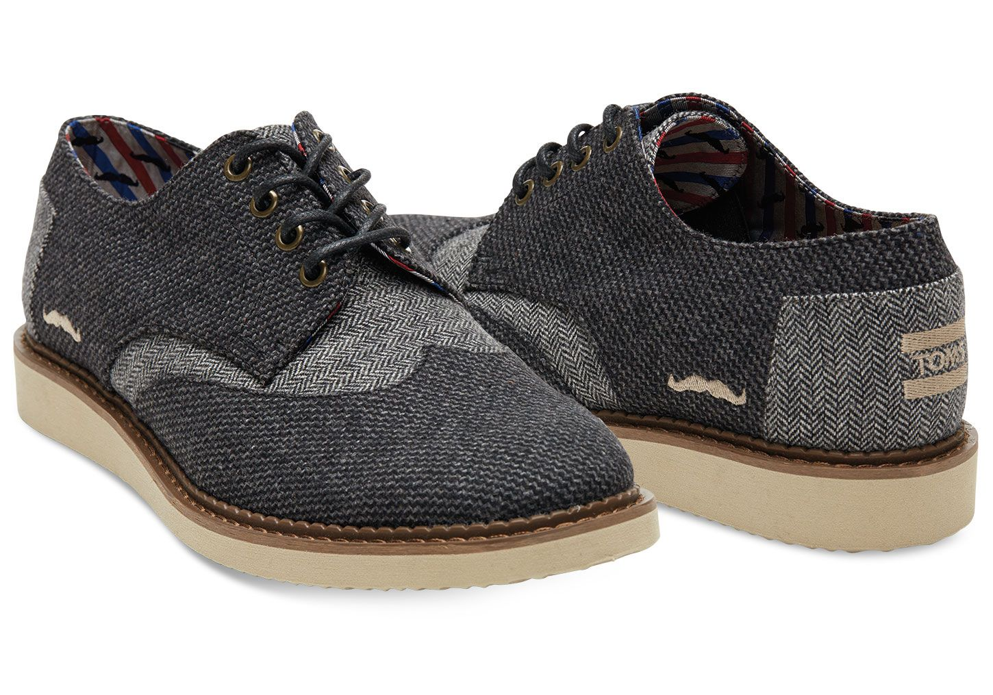 Movember x Toms Footwear recommend