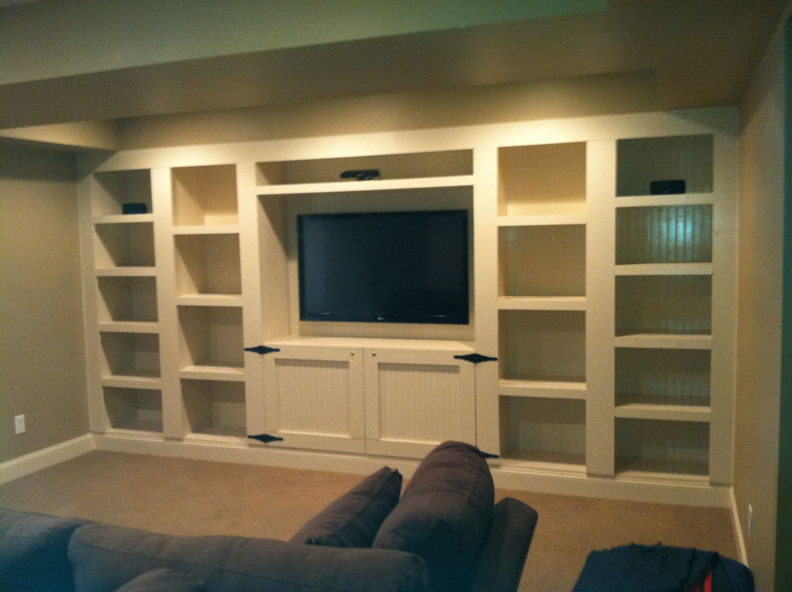 Lovely Built In Av Cabinet