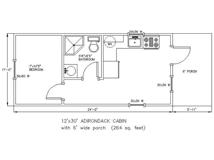 12x24 Floor Plans Google Search Tiny House Floor Plans