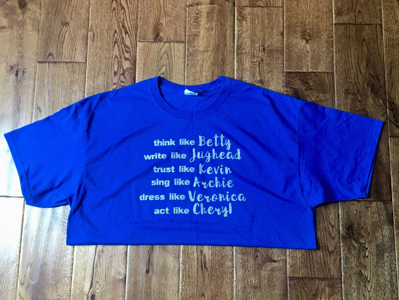 06b89e5df Riverdale Squad Goals T-shirt | Cricut | Riverdale shirts, Shirts ...