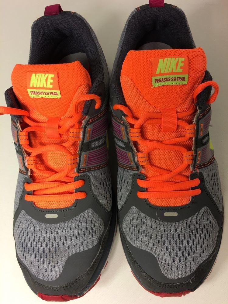 watch 275de 1f304 Nike Air Pegasus 29 Trail Running Shoes 525034 076 Womens Size 8 5  eBay