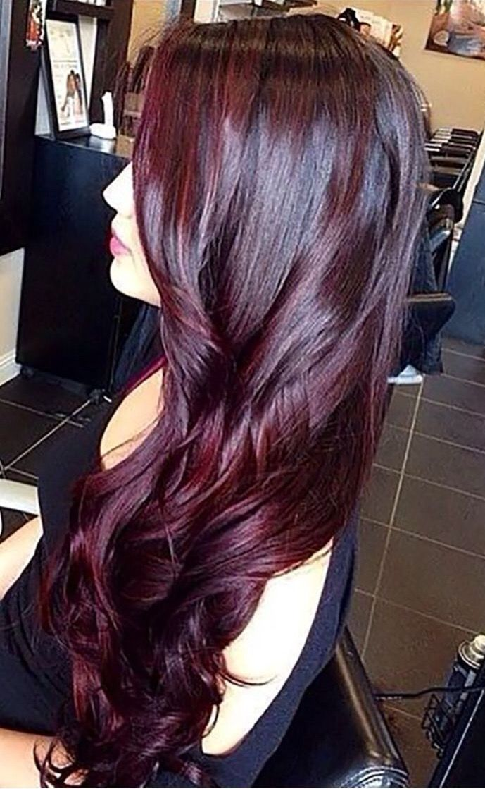 Cool Toned Red Hair Styles Pinterest Hair Burgundy Hair And