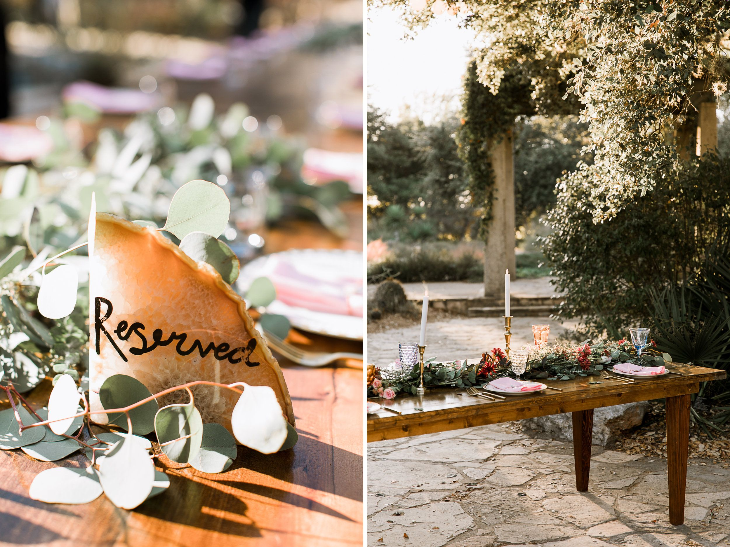 hunter + michael // austin wildflower center wedding | Wildflowers