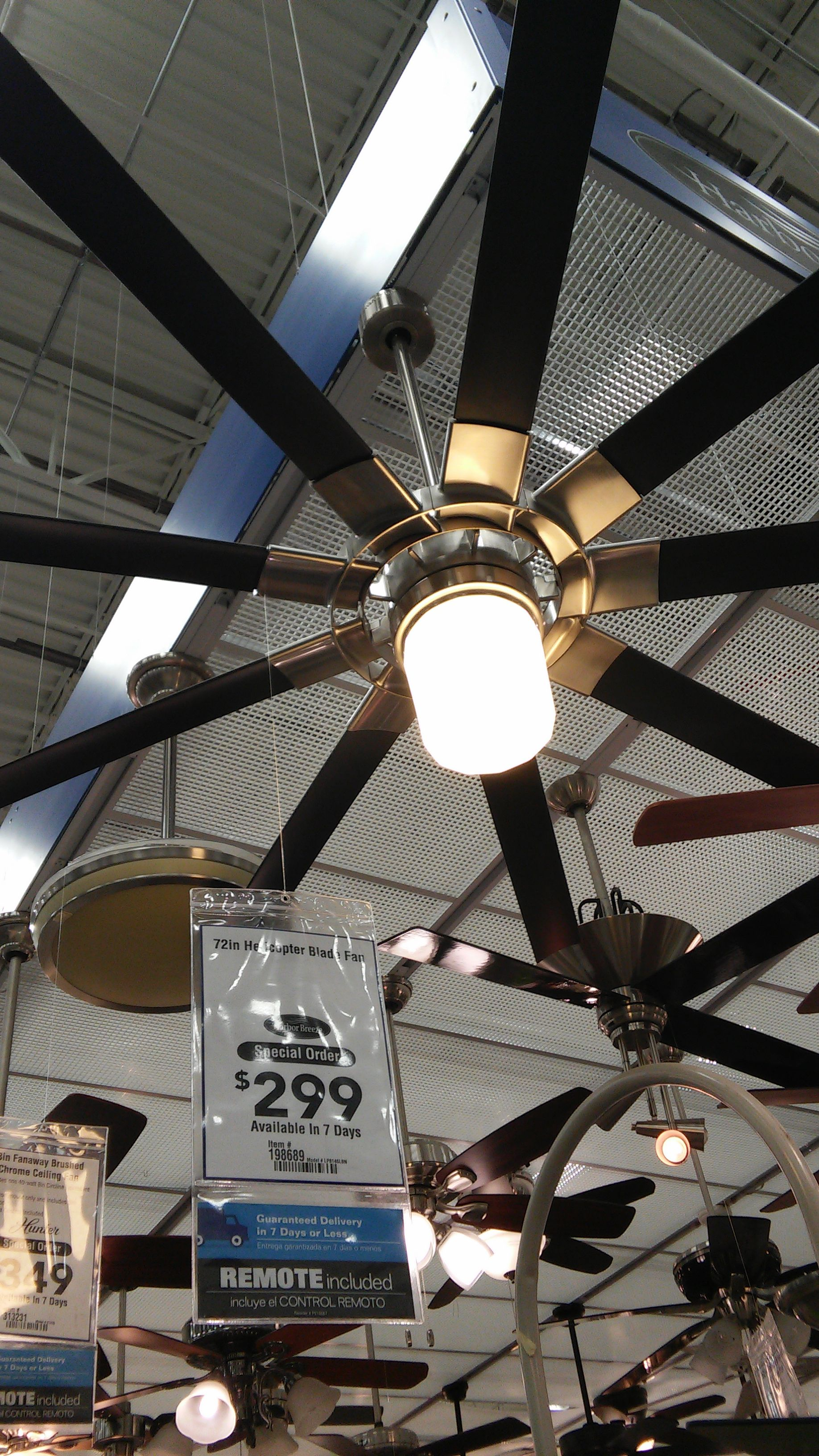 lighting in fans fan rpl and ceiling rp blade product arctic