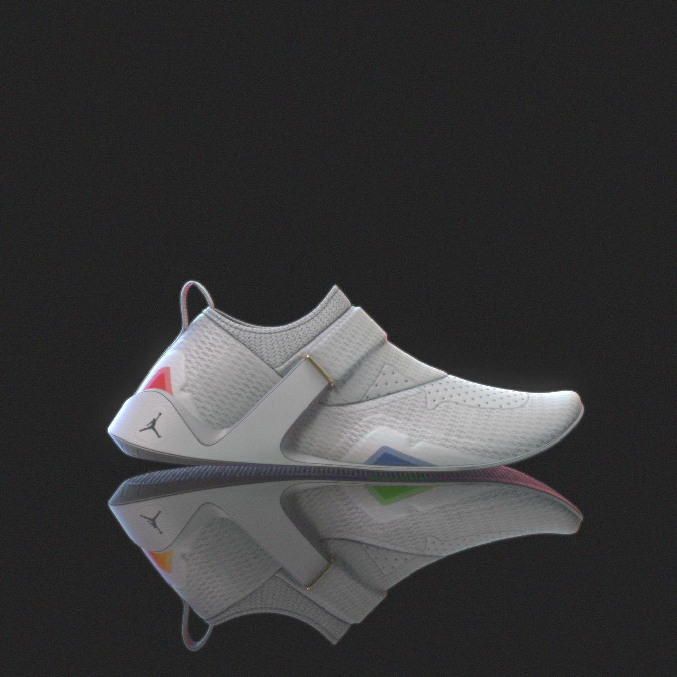 Laceless Jordan trainers | Sneakers