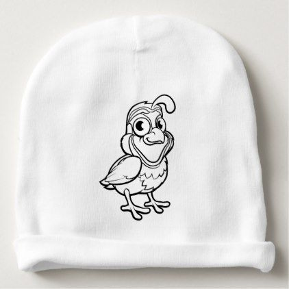 Cute Baby Beanies Babybeanies Quail Bird Cartoon Character Baby Beanie Cute Hats Baby Beanie Cute