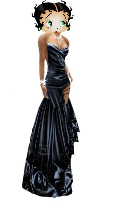 38++ Betty boop black dress trends