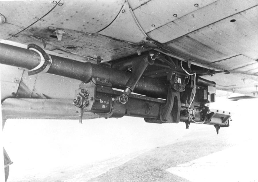"German 50 Mm Anti Tank Gun: Junkers Ju 88P-5 ""Duka"" With 88mm Anti-tank Cannon"