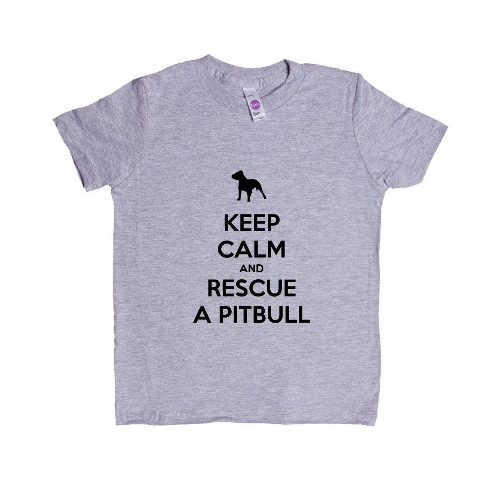 Keep Calm And Rescue A Pitbull Puppy Doggies Doggie Dogs Puppies Pet Pets Mutt Mutts Animals Animal Lover Rescue Unisex Adult T Shirt SGAL3 Unisex Kid's Shirt