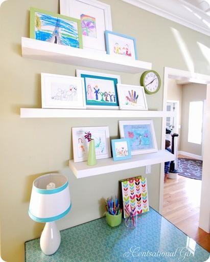 galley wall in playroom home diy playroom art gallery wall cotcozy