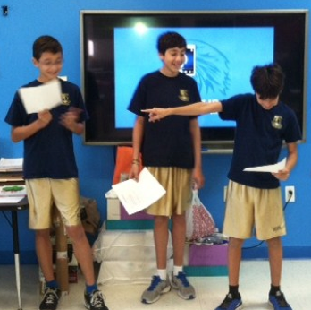 Modern Culture And Modern Technology Brought The Past To The Present In An Exercise Depicting The Geologic Time Scale Th Charter School School School Opening