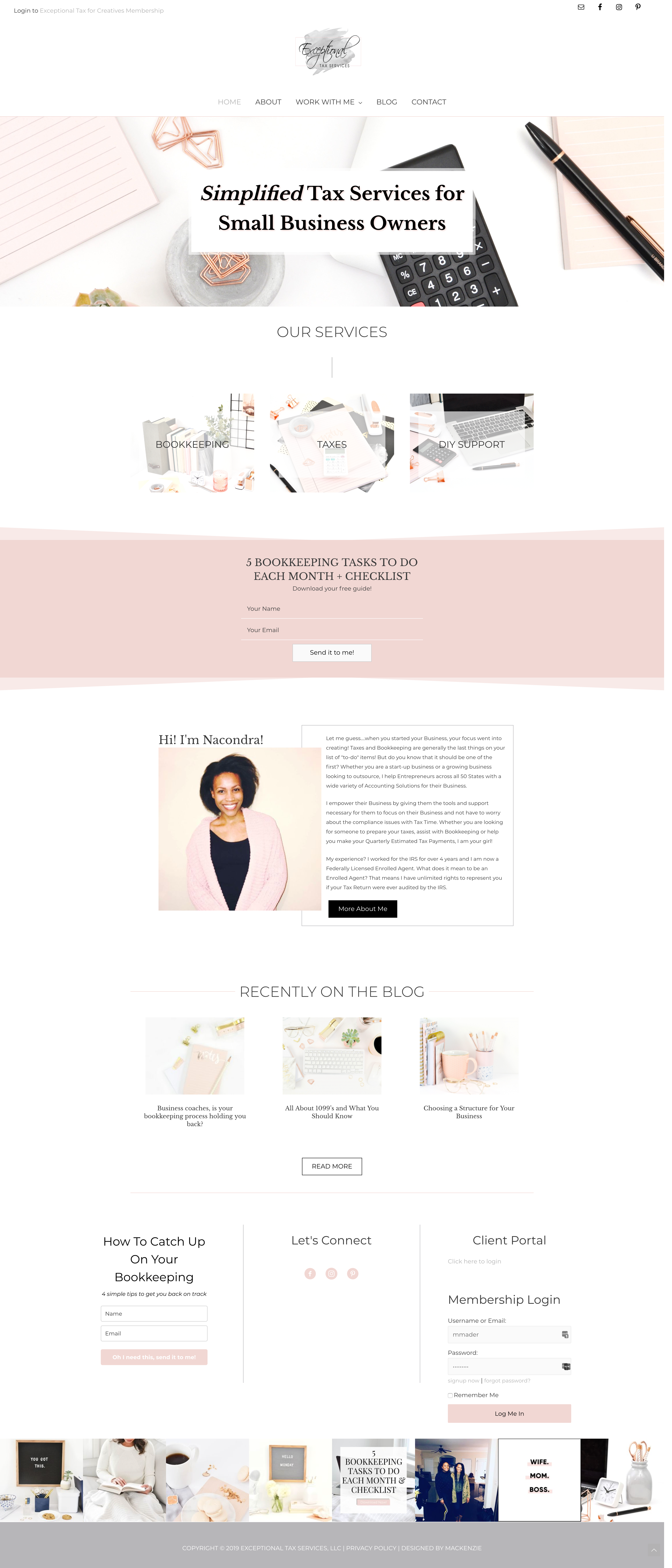 Website Design Inspiration For Female Entrepreneurs Business Website Design Website Design Wordpress Website Design